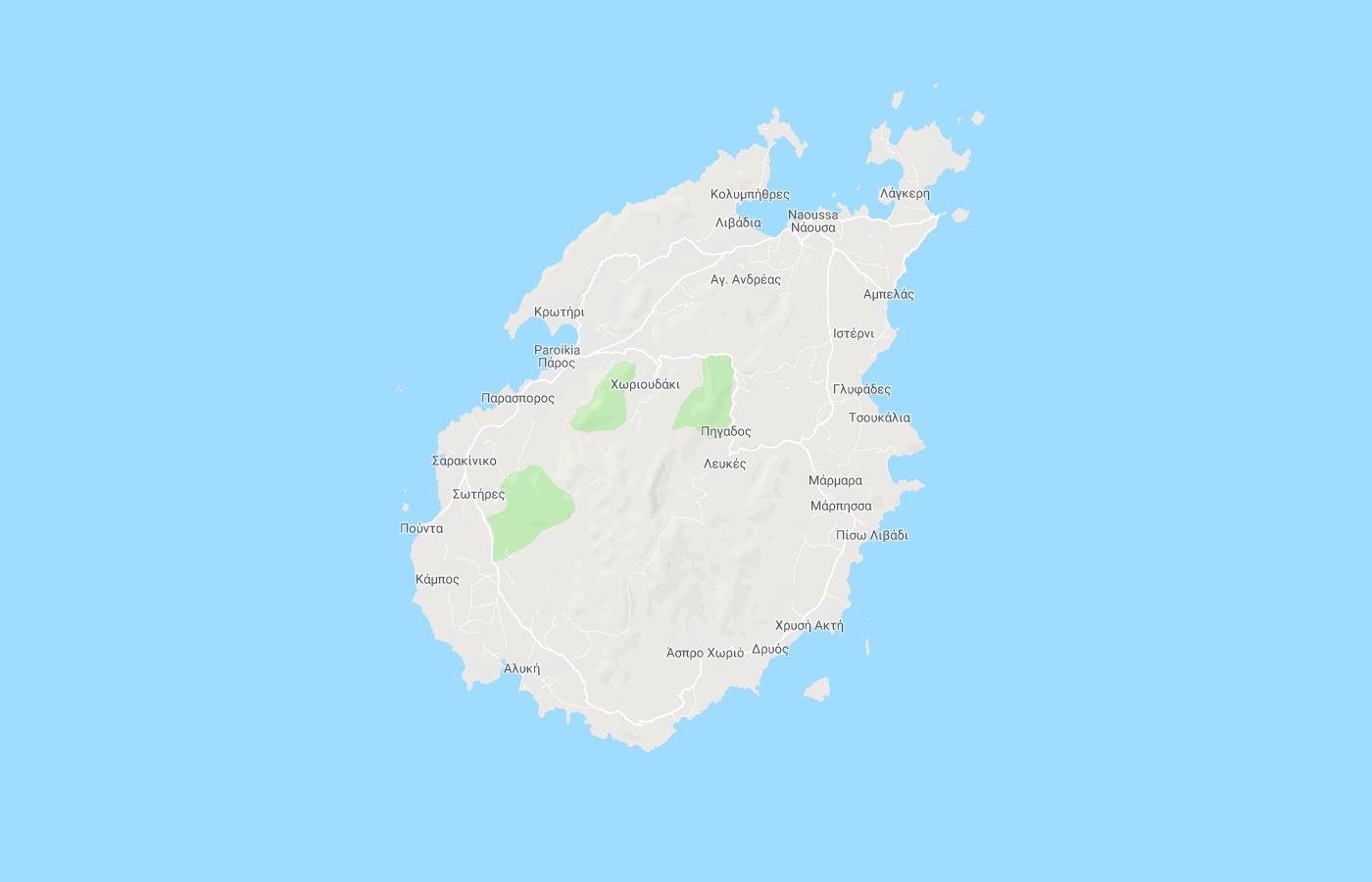Living Paros google maps