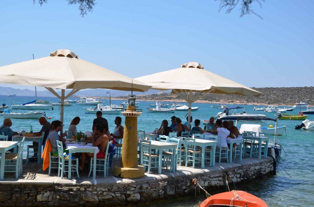 Pranzo sul mare ad Aliki