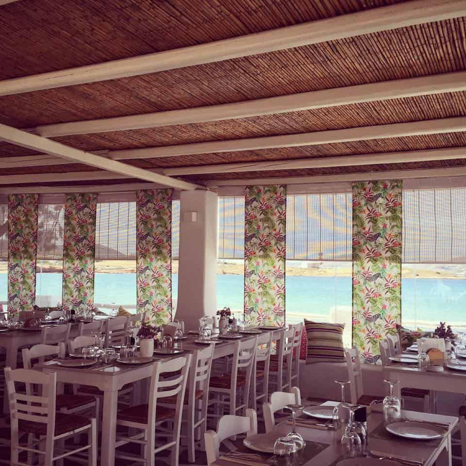 La terrazza sul mare di Siparos