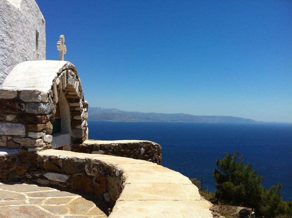 La vista da Agios Antonios